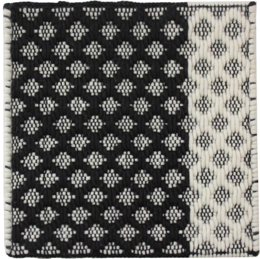 30x30 Diamond Black