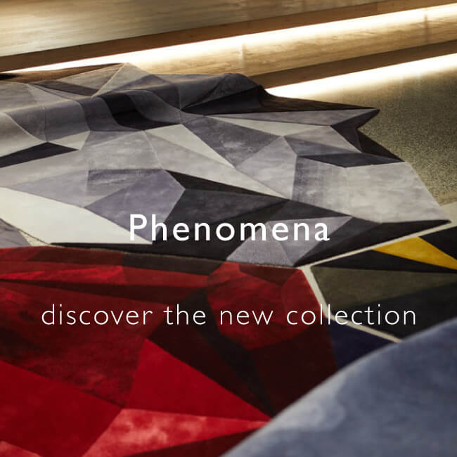 Phenomena hand-tufted rug collection